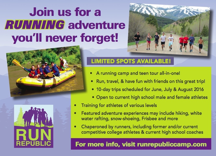 Run Republic Camp Post Card